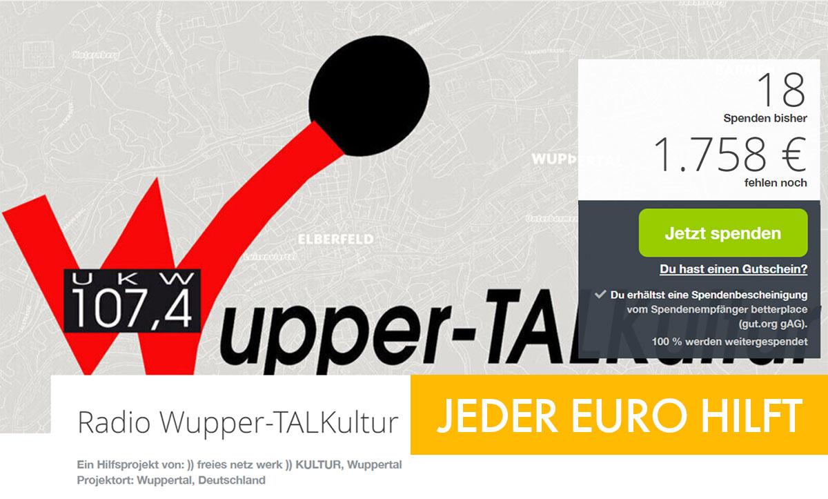 22. September // Spendentag auf Gut für Wuppertal